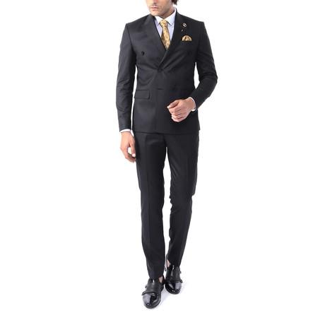 Tommy 2 Piece Slim Fit Suit // Black (Euro: 44)