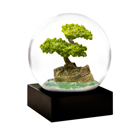 Bonsai Snow Globe