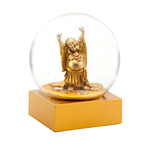 Laughing Buddha Snow Globe