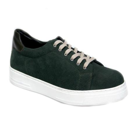 Hudson Sneaker // Green (Euro: 40)