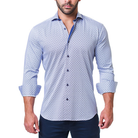 Einstein Dress Shirt // Illusion Blue (S)