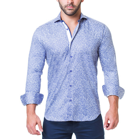 Einstein Dress Shirt // Rush Blue (S)