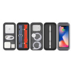 BentoStack Charge // Apple Accessory Organizer with Qi Charge Top