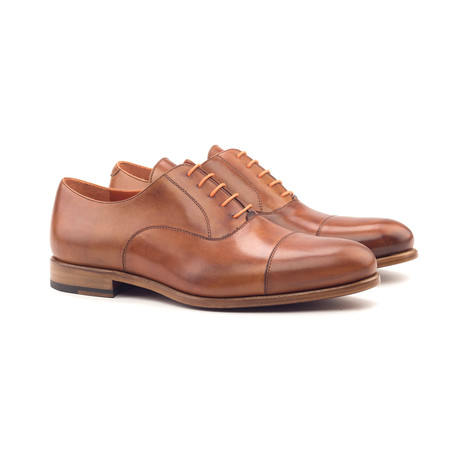 Oxford // Cognac Painted Calf (Euro: 40)