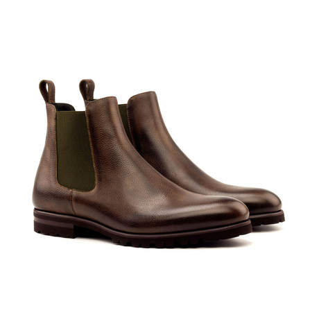 Chelsea Boot // Classic Dark Brown Painted Full Grain (Euro: 40)