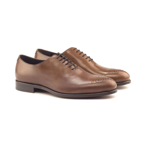 Whole Cut // Med Brown Polished Calf (Euro: 40)