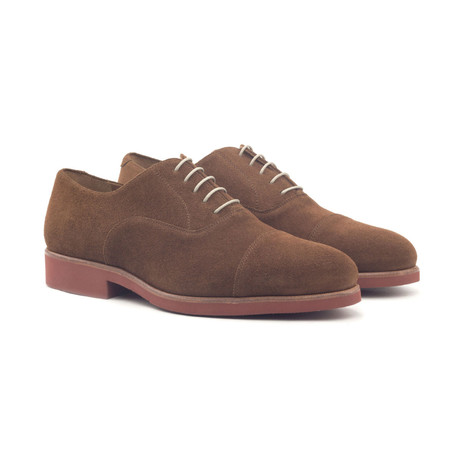 Oxford // Med Brown Lux Suede (Euro: 40)