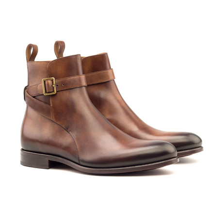 Jodhpur Boot // Med Brown Painted Calf (Euro: 40)