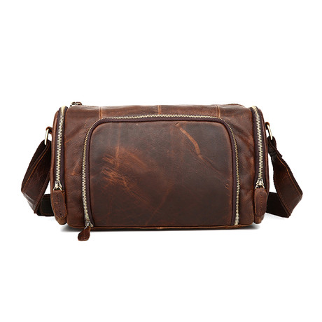 Messenger Bag // Dark Brown