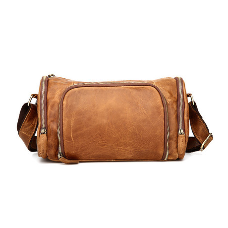 Messenger Bag // Light Brown