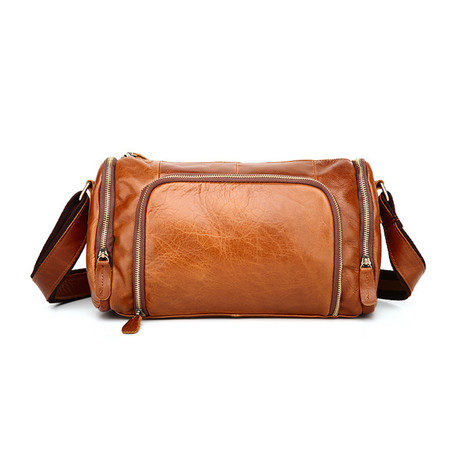 Messenger Bag // Oil Brown