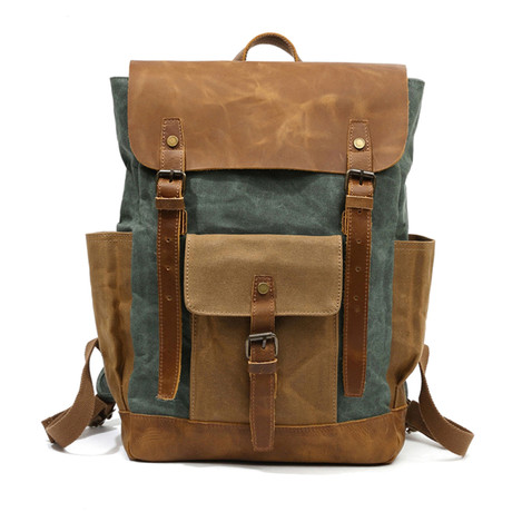 Backpack // Army Green