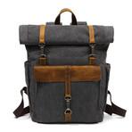 Triple Buckle Backpack // Black