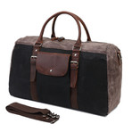 Duffel Bag With Front Pocket // Black