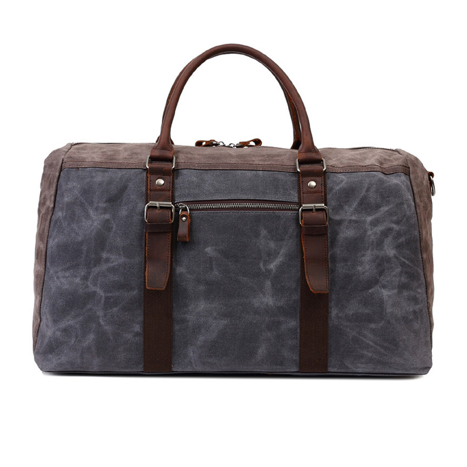 5db60b652f5b Duffel Bag With Front Pocket    Gray - OwnBag - Touch of Modern