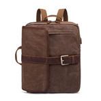 Side Buckle Backpack // Cof