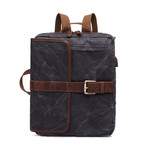 Side Buckle Backpack // Dark Gray