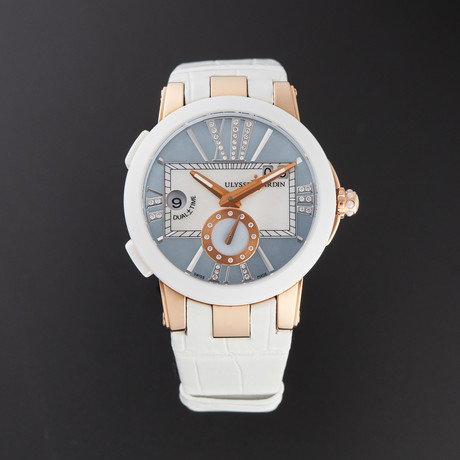Ulysse Nardin Executive Dual Time Lady Automatic // 246-10/391 // Pre-Owned
