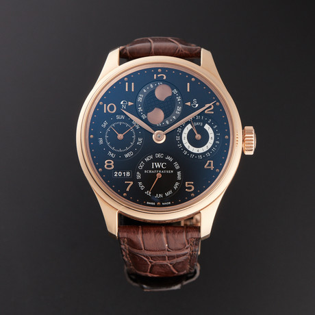 IWC Portuguese Perpetual Calendar Automatic // IW503202 // Pre-Owned