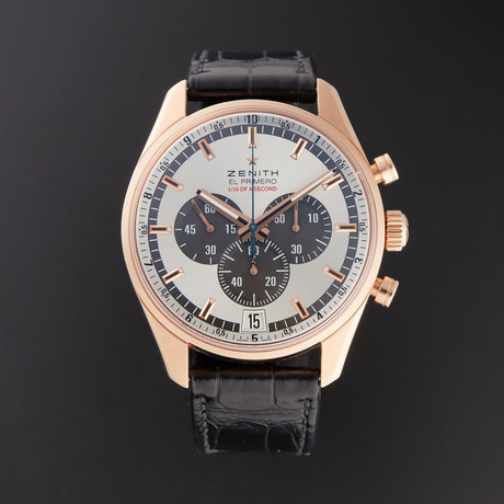 Zenith El Primero Striking 10th Chronograph Automatic // 18.2040.4052 // Pre-Owned