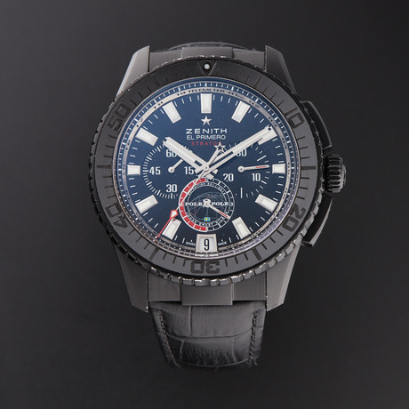 Zenith El Primero Stratos Flyback Chronograph Automatic // 24.2062.405/27.C707 // Pre-Owned