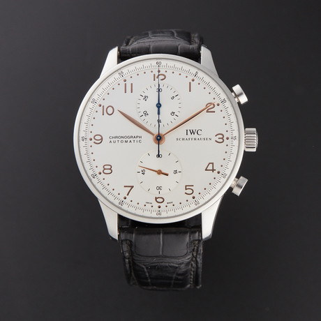 IWC Portugieser Chronograph Automatic // IW371445 // Pre-Owned