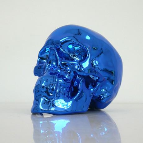 Skull Blue Chrome // NooN