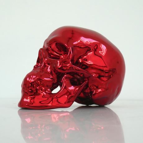 Skull Red Chrome // NooN