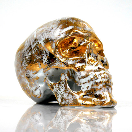 Skull Gold B by NooN