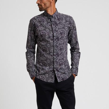 Paisley Print Shirt // Multi (S)