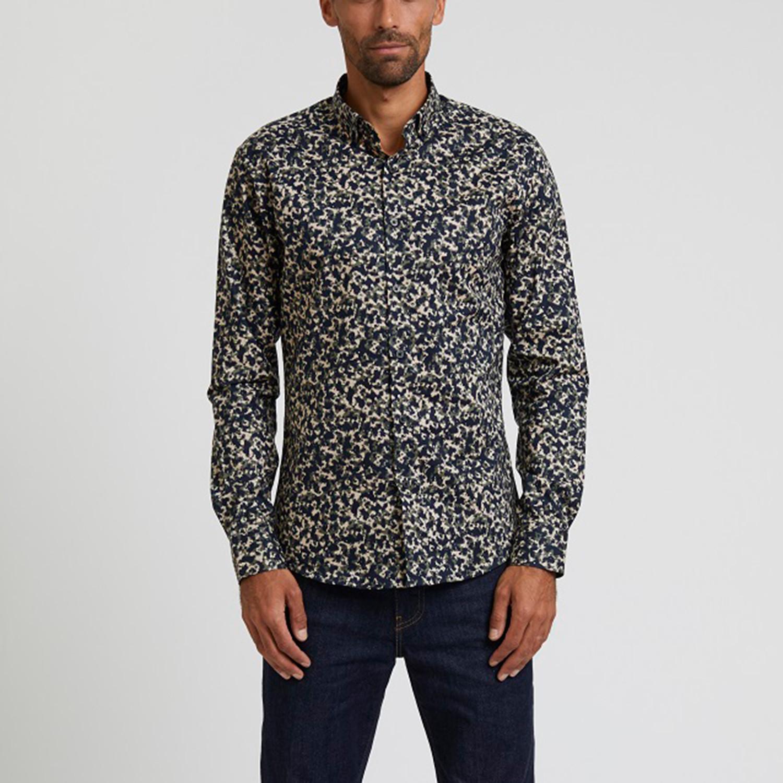 Print Shirt Camo S Cuffscollars Touch Of Modern