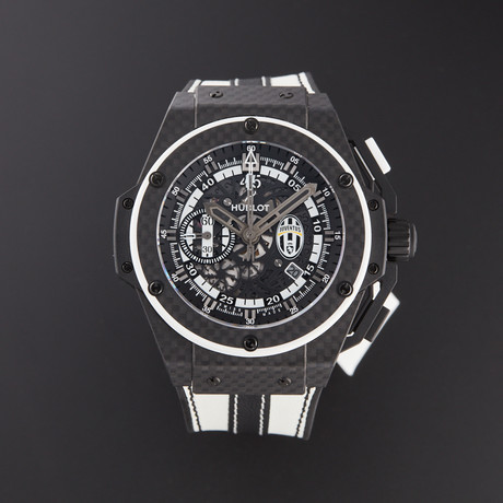 Hublot King Power Juventus Automatic // 716.QX.1121.VR.JUV13 // Pre-Owned