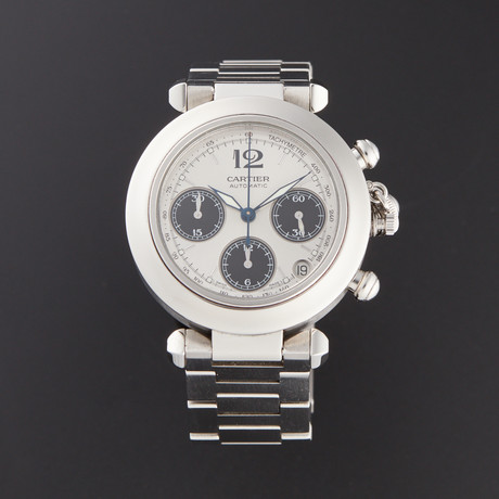 Cartier Pasha Chronograph Automatic // 2412 // Pre-Owned