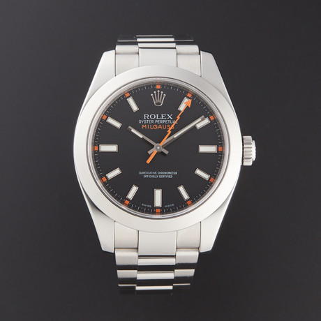 Rolex Milgauss Automatic // 116400 // Pre-Owned