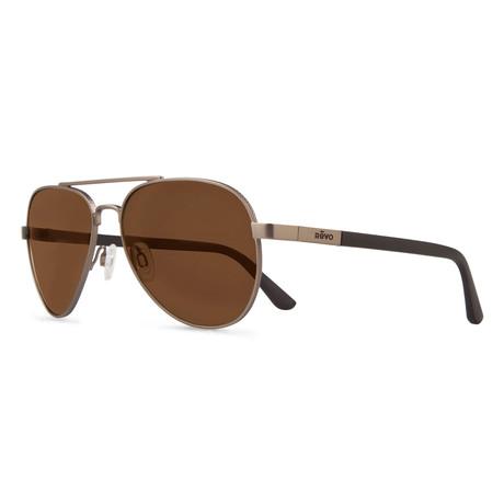 Raconteur Sunglasses // Glass Lenses // Gunmetal + Terra