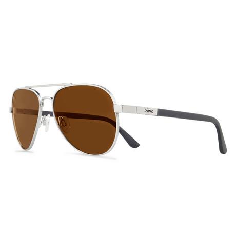 Raconteur Sunglasses // Glass Lenses // Chrome + Terra