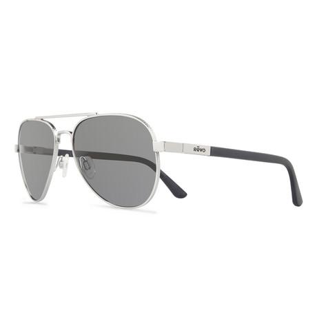 Raconteur Sunglasses // Glass Lenses // Chrome + Graphite