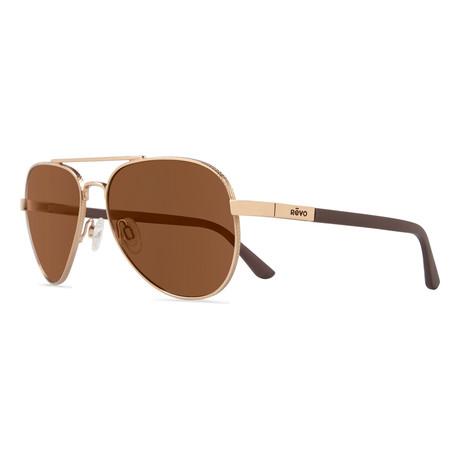 Raconteur Sunglasses // Gold + Terra