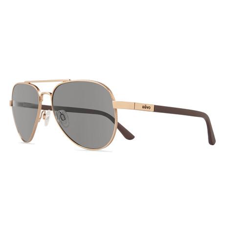 Raconteur Sunglasses // Gold + Graphite