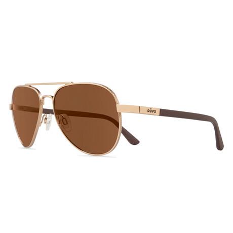 Raconteur Sunglasses // Glass Lenses // Gold + Terra