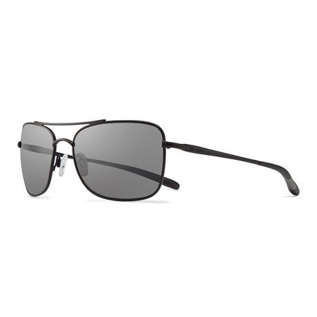 Territory Sunglasses // Black + Graphite