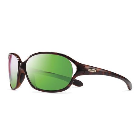 Skylar Sunglasses // Tortoise + Green Water