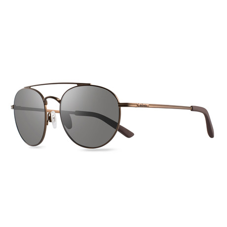 Helix Sunglasses // Glass Lenses // Brown + Graphite