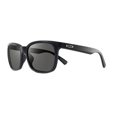 Slater Sunglasses // Glass Lenses // Matte Black + Graphite