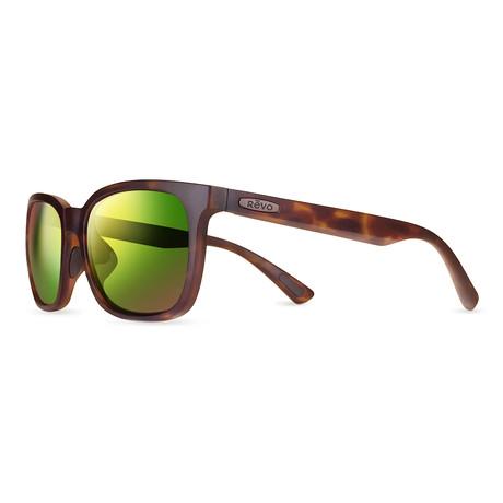 Slater Sunglasses // Matte Tortoise + Green Water