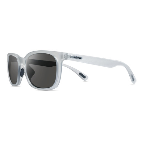 Slater Modified Square Sunglasses // Matte Crystal + Graphite