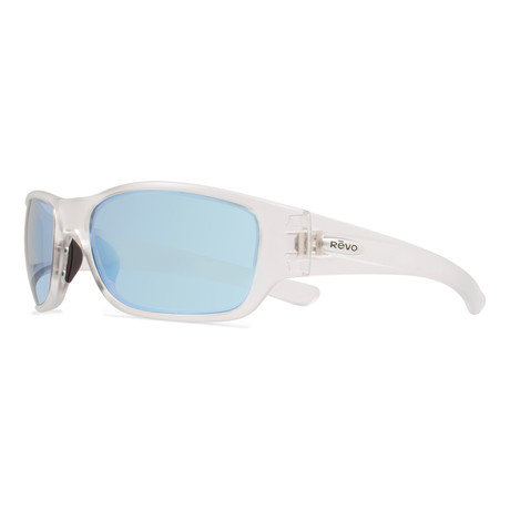 Heading Sunglasses // Crystal + Blue Water