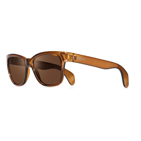 Trystan Modified Square Sunglasses // Root Beer + Terra
