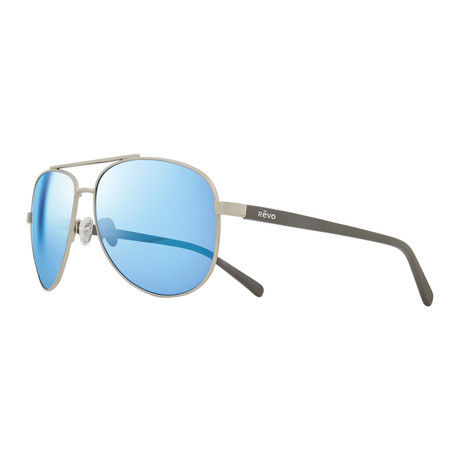 Shaw Sunglasses // Chrome + Blue Water