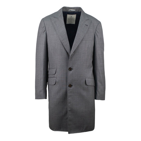 Brunello Cucinelli // Wool Overcoat Coat // Gray (Euro: 48)